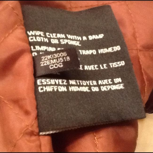 Guess Brown Leather Jacket Image 2