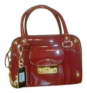 Alfani Satchel in Red