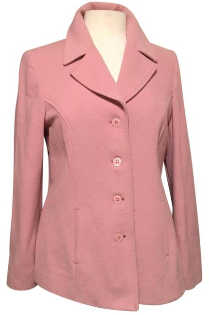 Preload https://img-static.tradesy.com/item/20098636/tribal-pink-woolcashmere-blend-4-button-front-closure-single-breasted-pea-coat-size-8-m-0-1-650-650.jpg