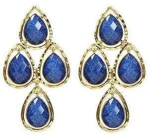 Amrita Singh Amrita Singh Sagaponack Real Housewives Lapis Chandelier Earrings Erc 194