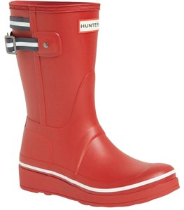 Hunter Current Short Red Boots
