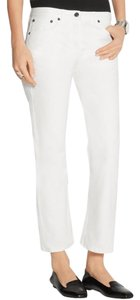 The Row High Rise Straight Leg Jeans-Light Wash