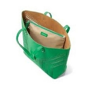 Stella & Dot Designer & & Handbag Tote in green