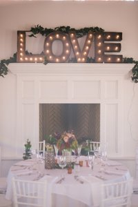 Marquee Lighted Love Sign