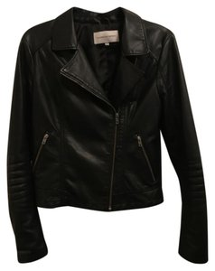 cupcakes and cashmere Moto Vegan Faux Leather Moto Leather Leather Jacket