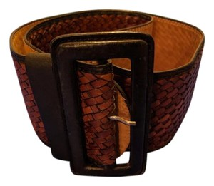 Banana Republic Wide Black & Brown Belt
