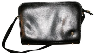 Leslie Fay Pebbled Leather Vintage Retro Shoulder Bag