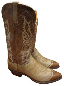 Lucchese Western Cowboy brown Boots