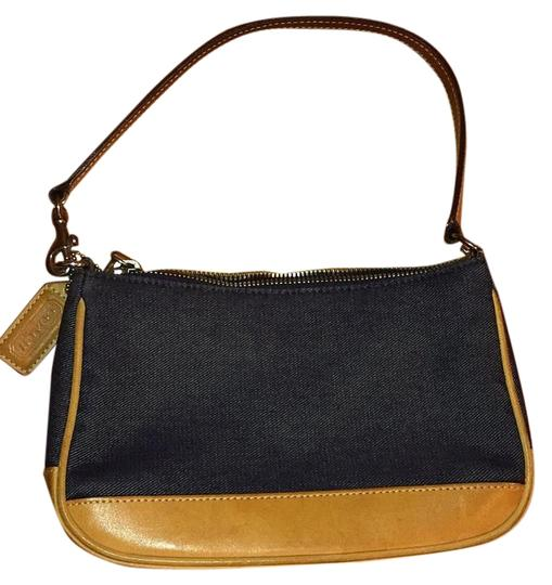 Preload https://img-static.tradesy.com/item/20099213/coach-navydenim-with-tan-leather-cotton-shoulder-bag-0-1-540-540.jpg