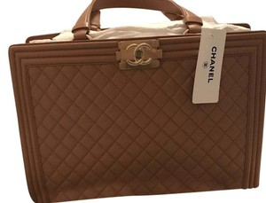 Chanel Tote in camel