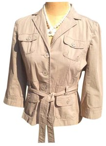 Ann Taylor LOFT Light Olive Jacket