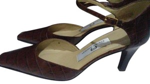 Etienne Aigner Womens Brown Pumps