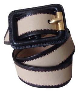 Burberry BURBERRY Lytham Solid Trench Leather Belt. Size 32