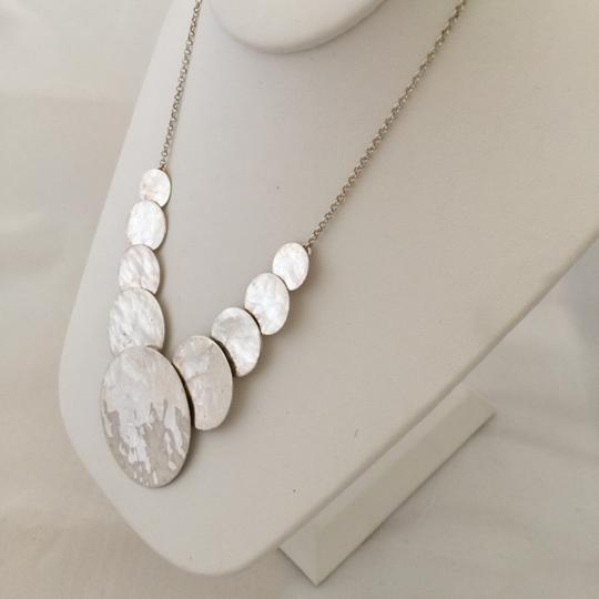 Adrienne Vittadini Sterling Silver Circles Necklace Image 2