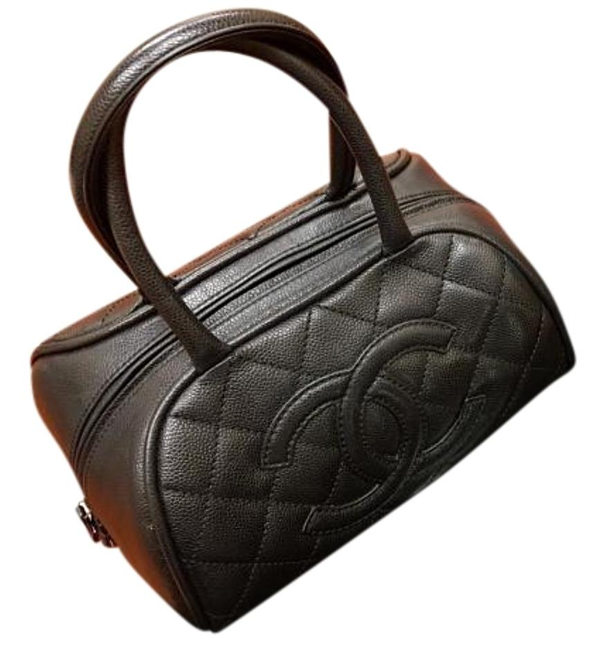 c28b5f897e91 Chanel Bowler Vintage Purse Vintage Style Classic Tote in Black ...