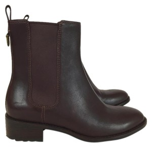 Cole Haan Leather Ankle Chelsea Brown Boots