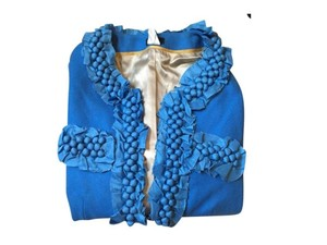 J.Crew Jacket Embellished blue Blazer
