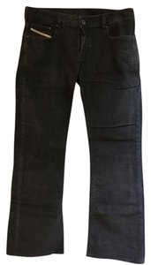 Diesel Corduroy Men Boot Cut Jeans-Dark Rinse
