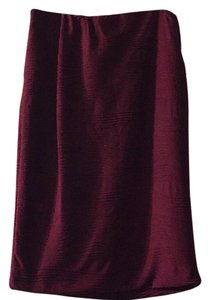 Mossimo Supply Co. Skirt Magenta