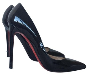 Christian Louboutin Red Sole Black Pumps
