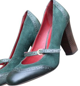 Tommy Hilfiger Green Pumps