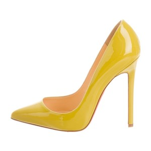 Christian Louboutin Lime Pumps