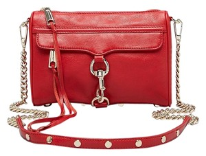 Rebecca Minkoff Convertible Leather Cross Body Bag