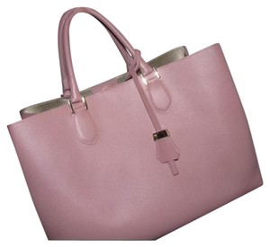 Gianni Notaro Satchel in Soft Pink
