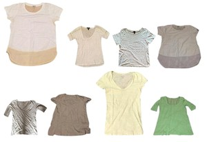 J.Crew Cotton Comfortable T Shirt Multi