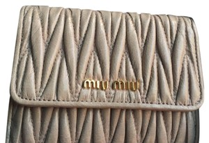 Miu Miu Miu Miu French Wallet