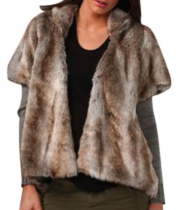 Wink Faux Fur Jacket Sweater