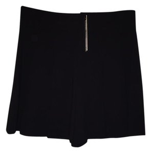 Alice + Olivia Pleated Dress Shorts Black