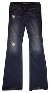 American Eagle Outfitters Slim Boot Cut Jeans-Distressed