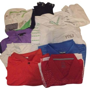 Other 8 Short Sleeves Golf Shirts 2XL