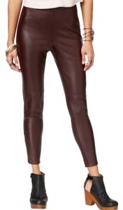 Free People Vegan Faux Leather Leather Leggings Ankle Pants