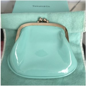 Tiffany & Co. NEW Authentic TIFFANY & CO. Blue Patent Leather Coin Purse w/ POUCH!!