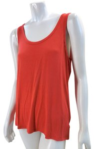 Michael Kors Sleeveless Relaxed Cami 7378 Top Orange