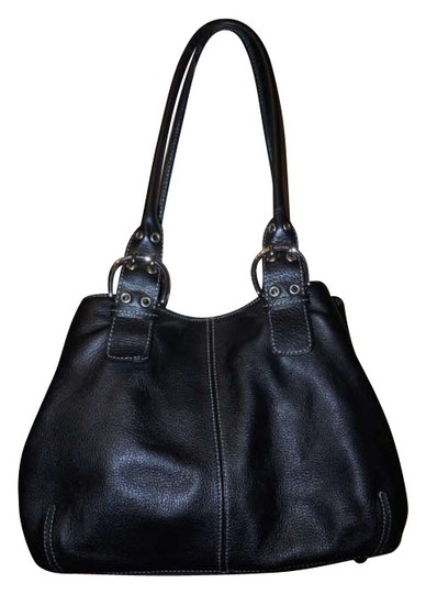 Preload https://item1.tradesy.com/images/tignanello-black-leather-tote-201010-0-0.jpg?width=440&height=440