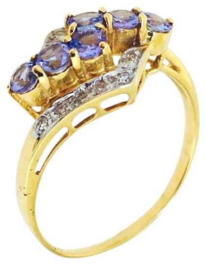 Preload https://img-static.tradesy.com/item/20101052/18k-yellow-gold-tanzanite-diamonds-ring-0-4-540-540.jpg