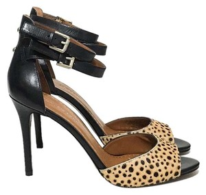 Enzo Angiolini Brown, Tan, Cheetah Print Sandals