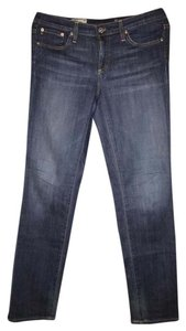 AG Adriano Goldschmied Denim Cigarette Stilt Skinny Jeans-Dark Rinse