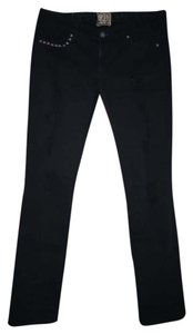 Rich & Skinny Studded Denim Skinny Jeans-Distressed