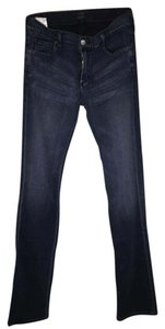 Citizens of Humanity Lowrise Ava Denim Straight Leg Jeans-Dark Rinse