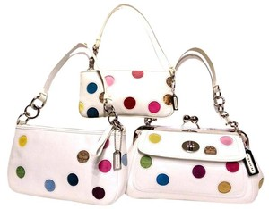 Coach Polka Dot Shoulder Bag