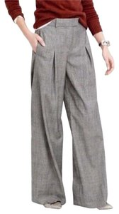 J.Crew Wide Leg Pants Gray