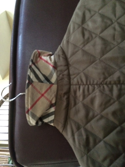 Burberry Quilted Military green Jacket