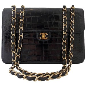 Chanel Chain Crocodile Classic Shoulder Bag