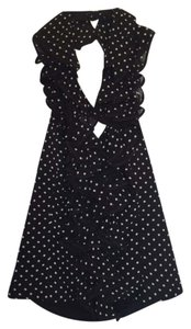 Anne Fontaine Top Black and White Polka Dot