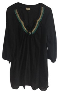 Ella Moss short dress Black Beading Gauze on Tradesy