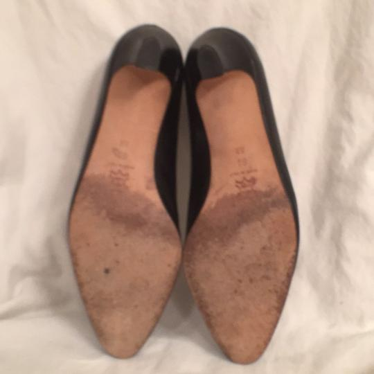 Bally Vintage Leather Classic Formal Comfortable Black Pumps